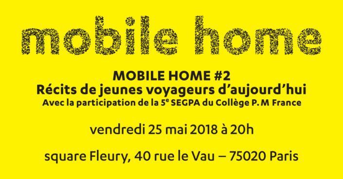 Mobile Home 2 - 25 mai 2018